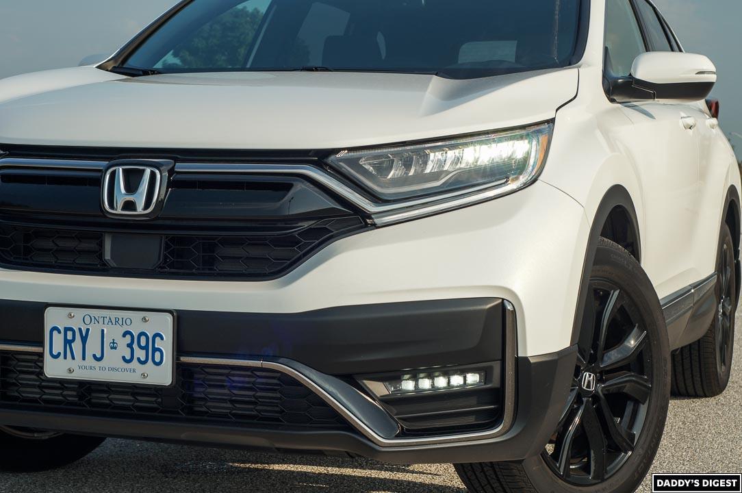 2022 Honda CR-V Black Edition Front Bumper