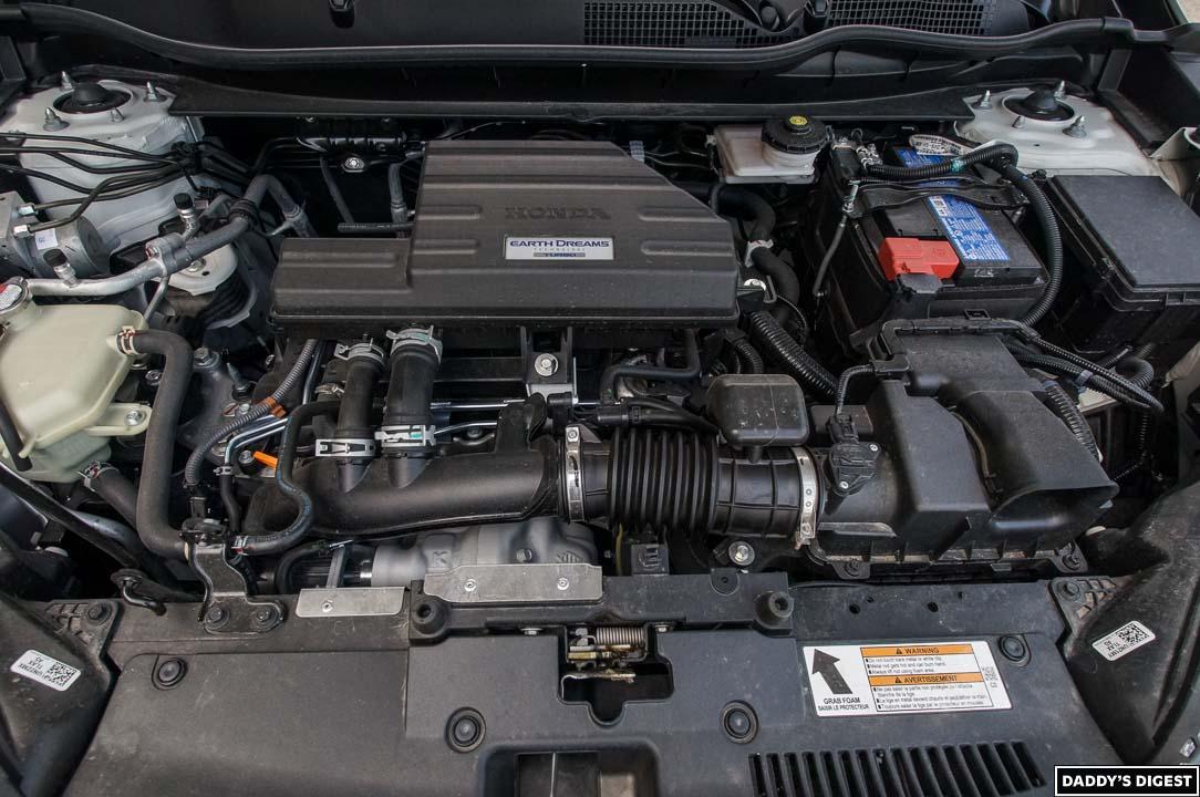 2022 Honda CR-V Black Edition Engine