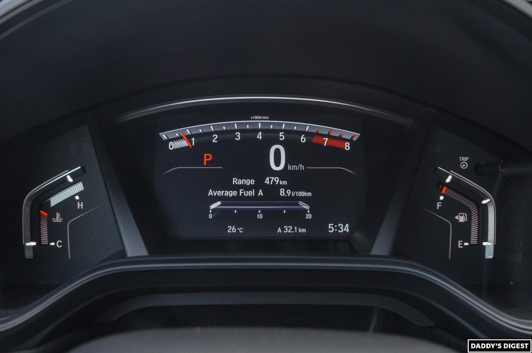 2022 Honda CR-V Black Edition Gauge Cluster