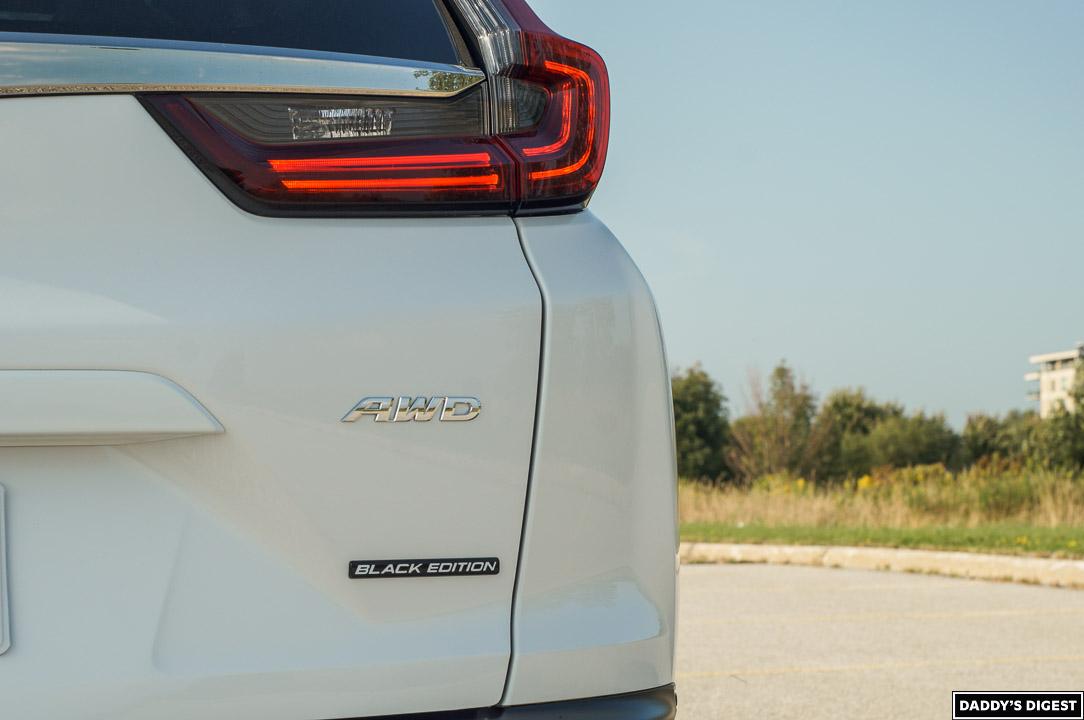 2022 Honda CR-V Black Edition Badge