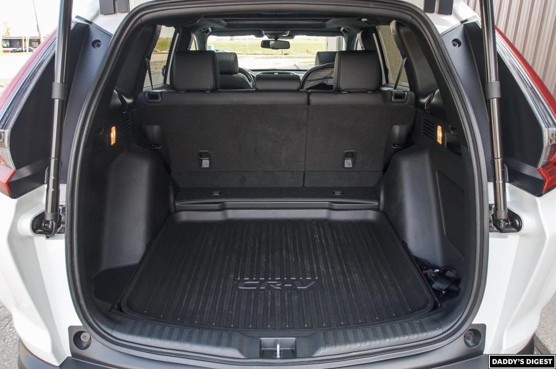 2022 Honda CR-V Black Edition Cargo Area