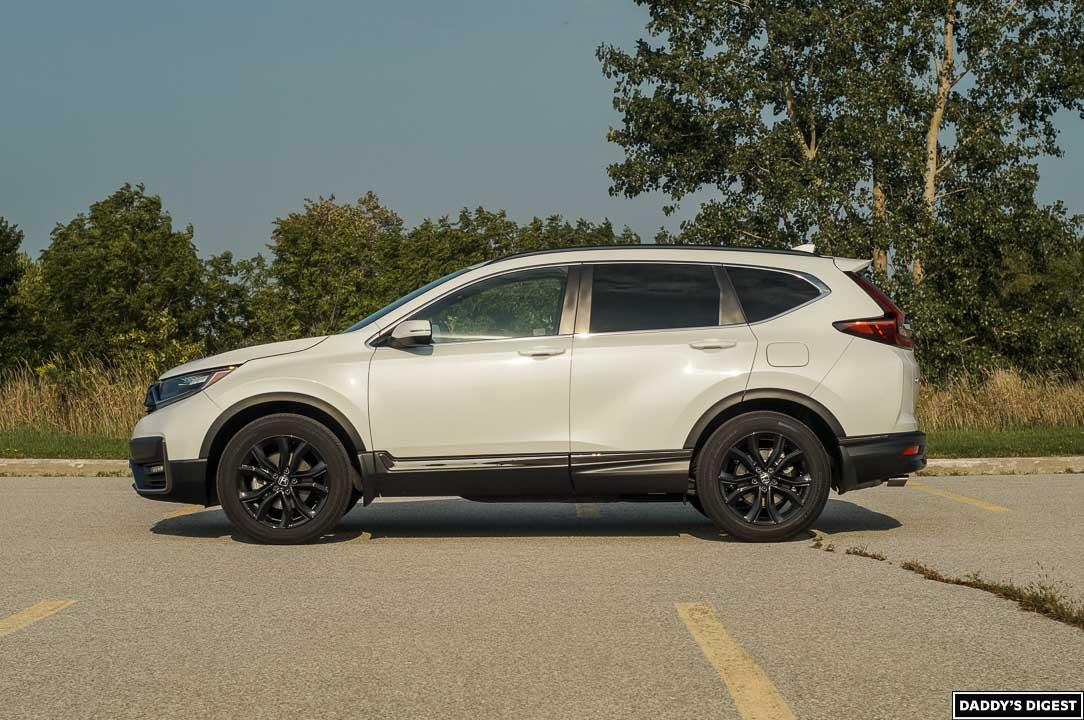 2022 Honda CR-V Black Edition Side View