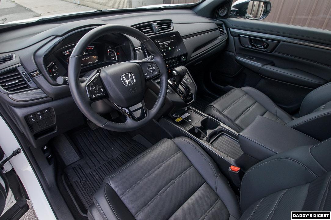 2022 Honda CR-V Black Edition Interior