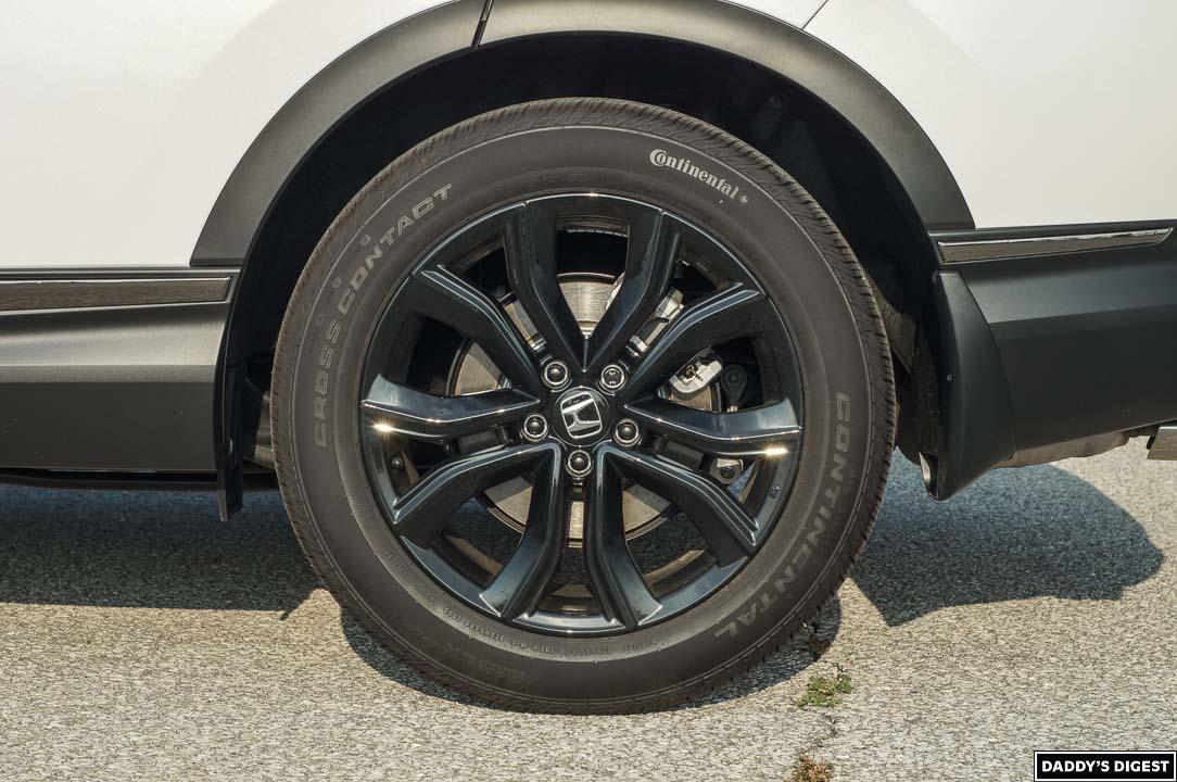 2022 Honda CR-V Black Edition Wheel