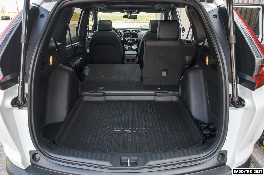 2022 Honda CR-V Black Edition Cargo Area With Seats Folded