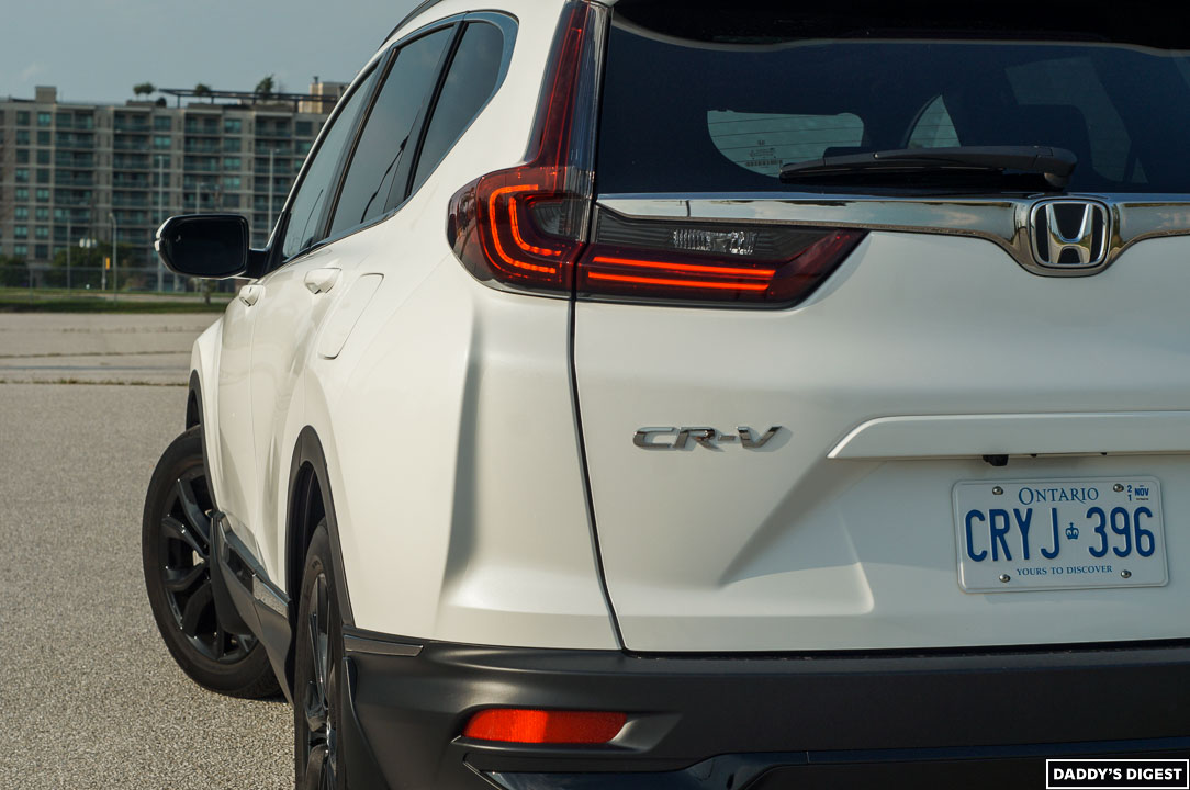 2022 Honda CR-V Black Edition Rear View